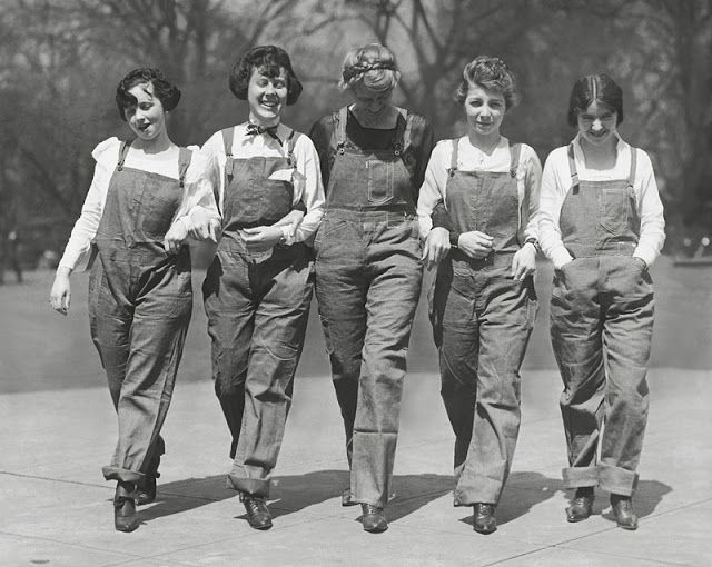 1920-OVERALLS-WOMEN