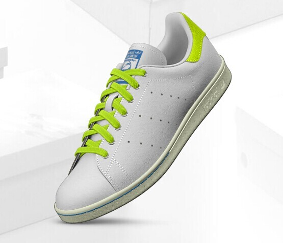 homme_adidas_originals_stan_smith_vulc_leather_suede_-_blanche_vert_fluo