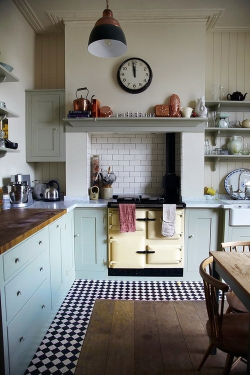 When Your Kitchen Meet The Vintage Style… – Yueyue'S Fancy Industry